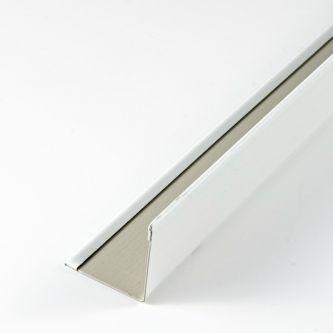 API 19/24 hoeklijn wit 3000 mm/st