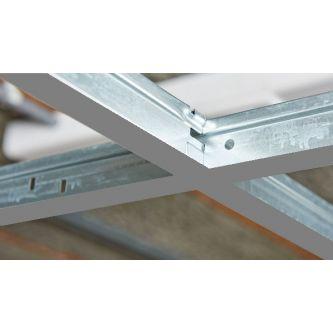 Plafondprofielen CMC RAL 9006 T24 mm
