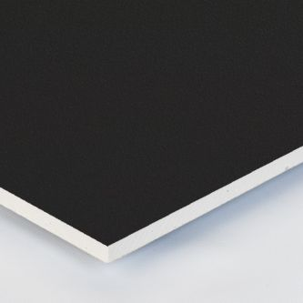 Gipsvinyl zwarte 600x1200x9.5 mm plafondplaten
