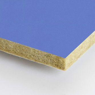 Blauwe Rockfon Aqua 600x600 mm inleg plafondplaten