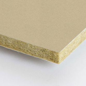 Beige Rockfon Chalk 600x1200x25 mm inleg plafondplaten
