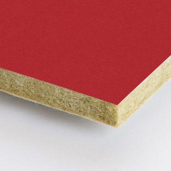 Rode Rockfon Chili 1200x1200x25 mm inleg plafondplaten
