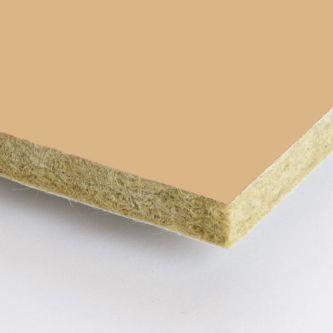 Geel beige Rockfon Sand 600x1500x25 mm inleg plafondplaten