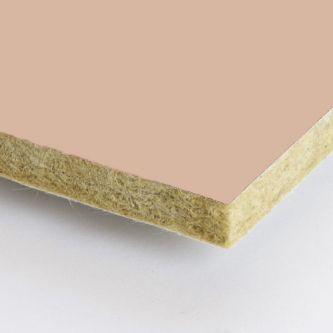 Bruine Rockfon Sandalwood 1200x1200x25 mm inleg plafondplaten