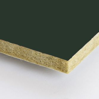 Groene Rockfon Seaweed 600x2400x25 mm inleg plafondplaten