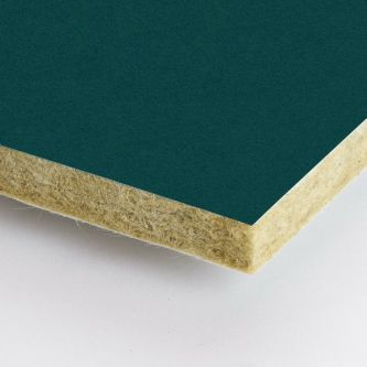 Groene Rockfon Emerald 600x2100x25 mm inleg plafondplaten