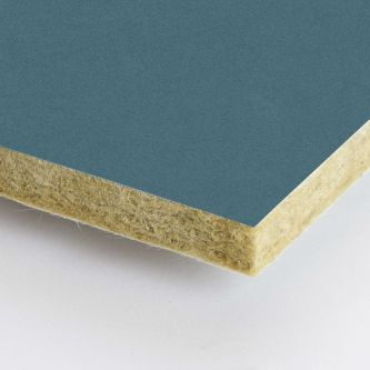 Blauwe Rockfon Ermine 600x1500x25 mm inleg plafondplaten