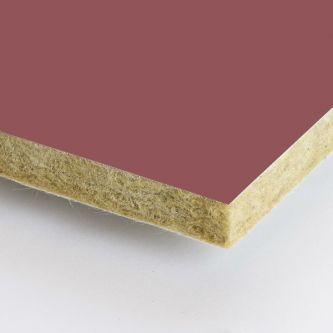 Bruine Rockfon Garnet 600x1500x25 mm inleg plafondplaten