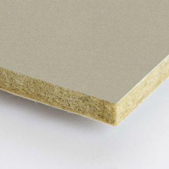 Grijze Rockfon Hemp 600x1500x25 mm inleg plafondplaten