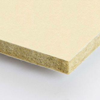 Creme Rockfon Stucco 600x1200x25 mm inleg plafondplaten