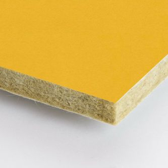 Rockfon geel Vitamin 600x600x25 mm inleg plafondplaat