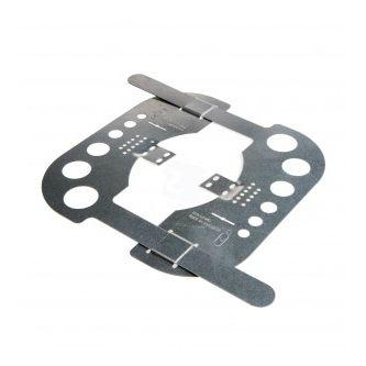 Spotplaat mini staal voor verlichting