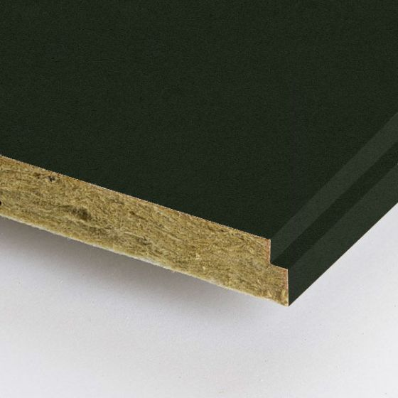 Rockfon zwart Charcoal 600x600 mm doorzak plafondplaat