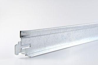 Dwarsprofiel chroom T24 600 mm 75 st/pk