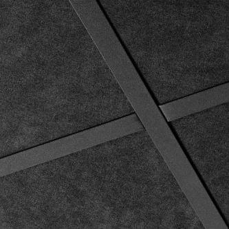Ecophon Sombra A T24 zwart 600x1200x15 mm inleg