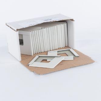 Buitenhoek wit 24 mm systeemplafond / doos 50 st