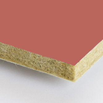 Rockfon Coral rood 600x2400x25 mm inleg plafondplaten