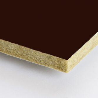 Rockfon Ebony donker bruin 1200x1200x25 mm inleg plafondplaten