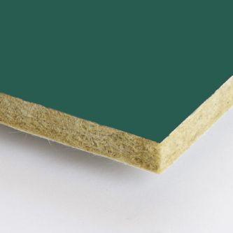 Groene Rockfon Eucalyptus 1200x1200x25 mm inleg plafondplaten