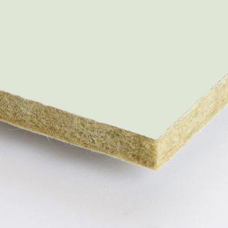 Licht groene Rockfon Mint 1200x1200x25 mm inleg plafondplaten