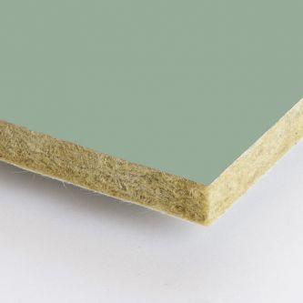 Groene Rockfon Sage 600x600x25 mm inleg plafondplaten