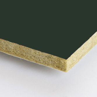 Groene Rockfon Seaweed 1200x1200x25 mm inleg plafondplaten
