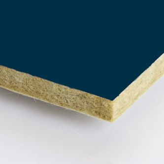 Blauwe Rockfon Space 1200x1200x25 mm inleg plafondplaten