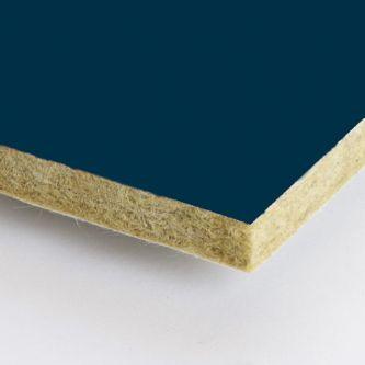 Blauwe Rockfon Space 600x2400x25 mm inleg plafondplaten