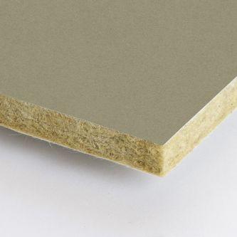Beige Rockfon Cork 600x1500x25 mm inleg plafondplaten