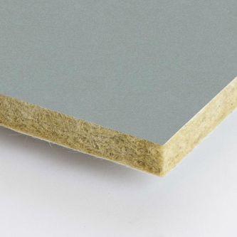 Grijze Rockfon Gravel 600x600 mm inleg plafondplaten