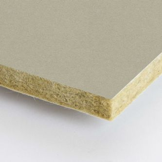 Grijze Rockfon Hemp 600x1200x25 mm inleg plafondplaten