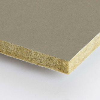 Beige Rockfon Linen 600x1200x25 mm inleg plafondplaten