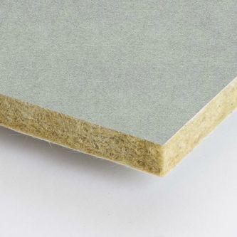 Grijze Rockfon Mercury 600x1200x25 mm inleg plafondplaten
