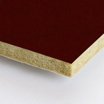 Rockfon rood Scarlet 600x1200x25 mm inleg plafondplaat