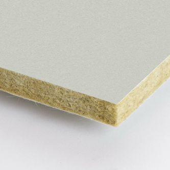 Grijze Rockfon Stone 600x1200x25 mm inleg plafondplaten