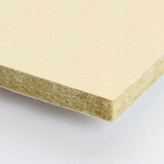 Creme Rockfon Stucco 600x1800x25 mm inleg plafondplaten