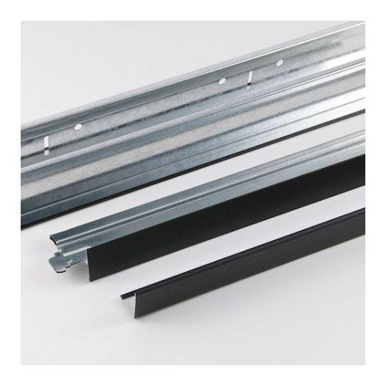 Plafondprofielen zwart T24